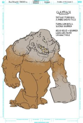 clayface rocksteady