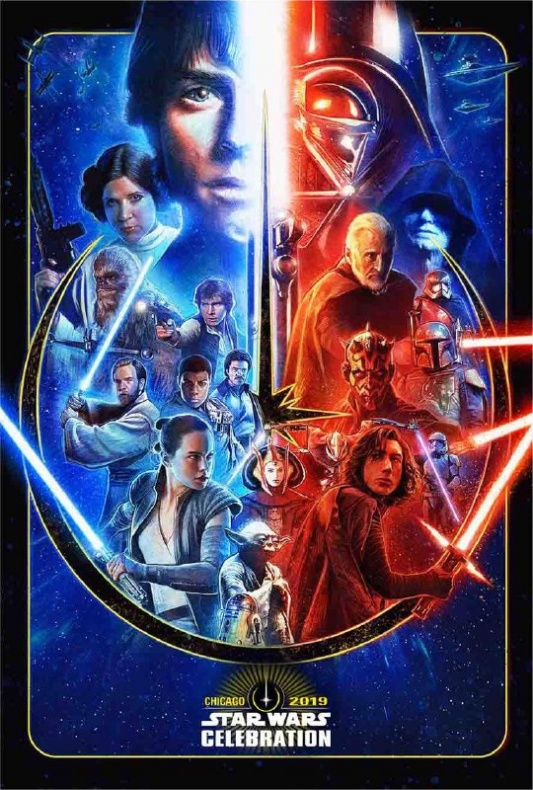 Star Wars Celebration 2019 - Poster