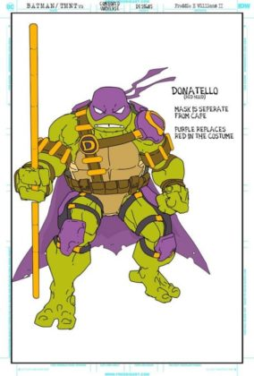 donatello red hood