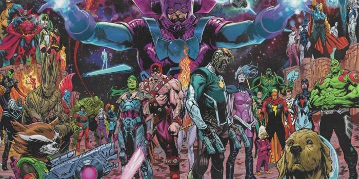 Guardianes de la Galaxia - cómic