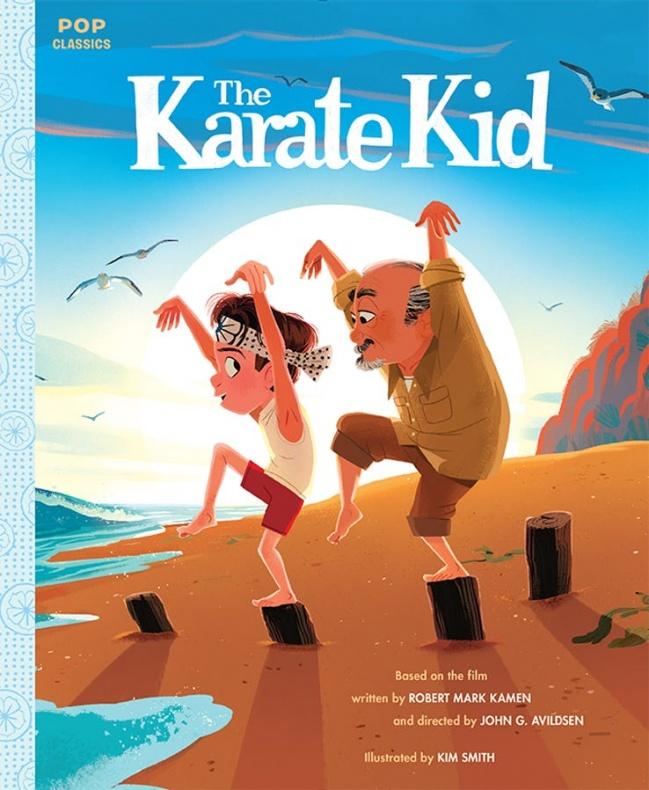 karate kid illustrated cover