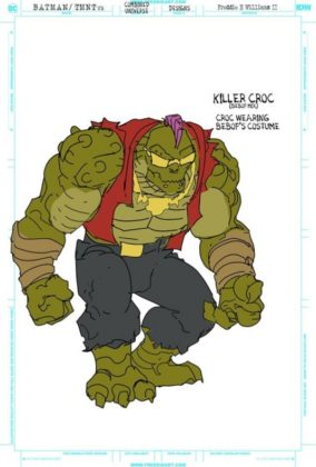 killer croc bebop