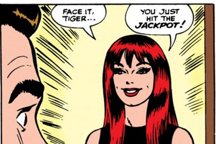 peter parker conoce a mary jane