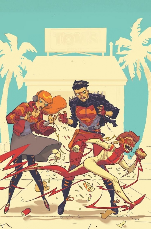 young justice 7 variant cover