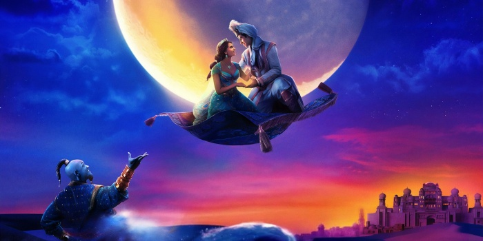 Aladdin Jasmine y Genio