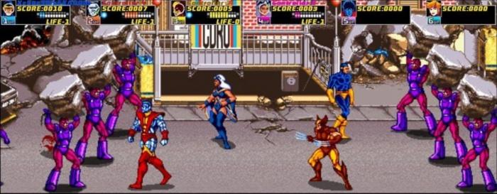 Arcade xmen game