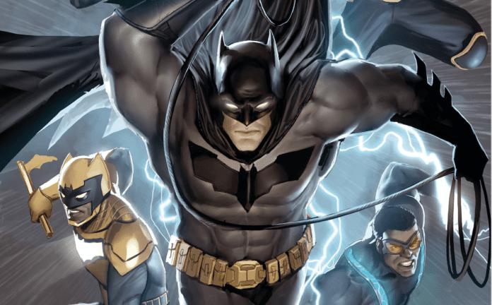 Batman and the Outsiders vol 3 - 1 - destacada