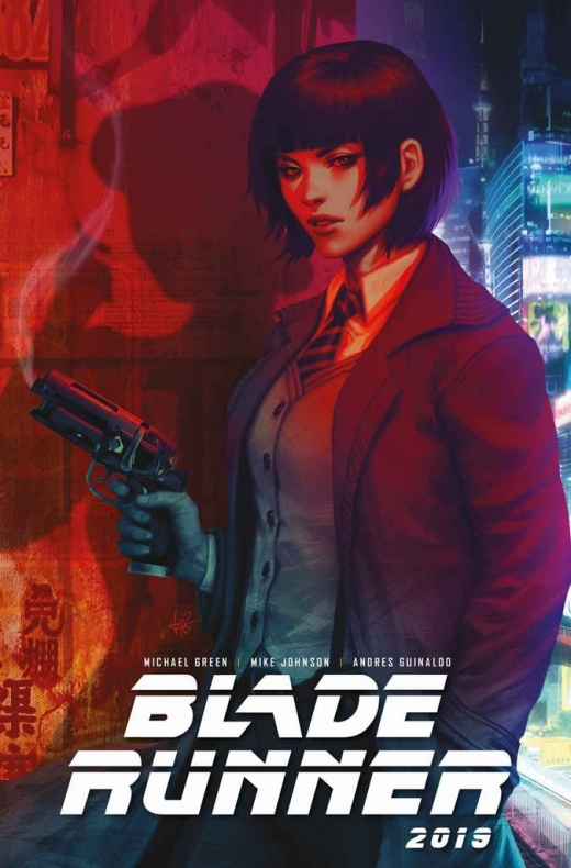 Blade Runner 1 Cover A Artgerm Not Final Cover