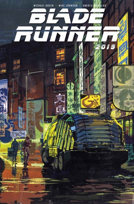 Blade Runner 1 Cover B Syd Mead Not Final Cover