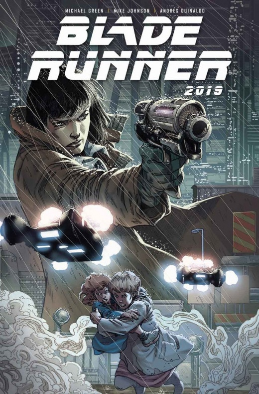 Blade Runner 1 Cover C Andres Guilando Not Final Cover