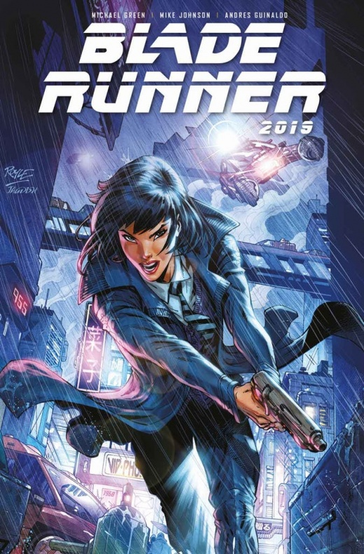Blade Runner 1 Cover D John Royle Not Final Cover