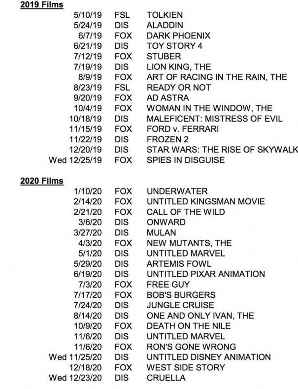 Programación Disney 2