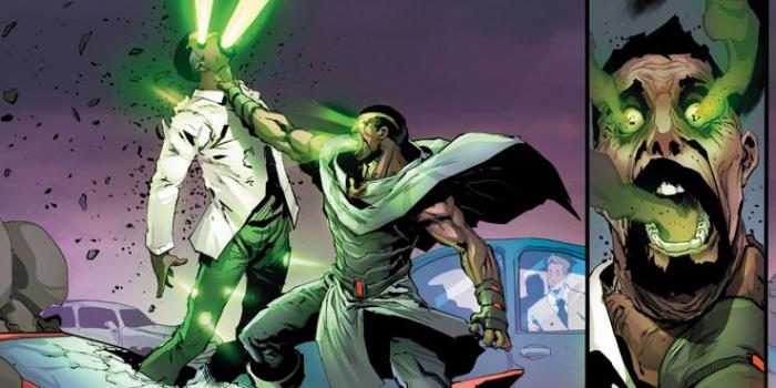 Ishmael (trasunto de Ahan de los X-Men de Marvel) debuta en Batman and the Outsiders vol. 3 número 1