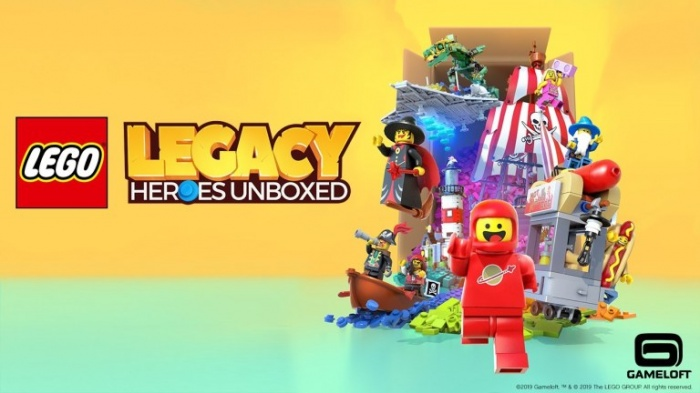 LEGO Legacy Heroes Unboxed Game Announcement Image