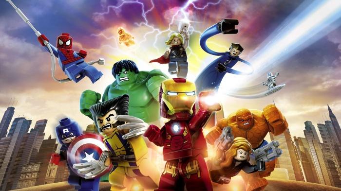 LEGO Marvel game