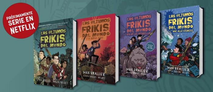 Los últimos frikis del mundo - libros