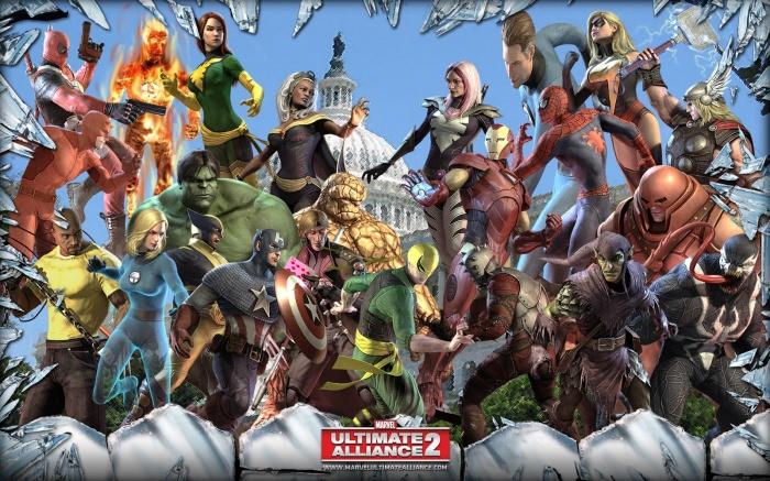Marvel Ultimate Alliance 2 game
