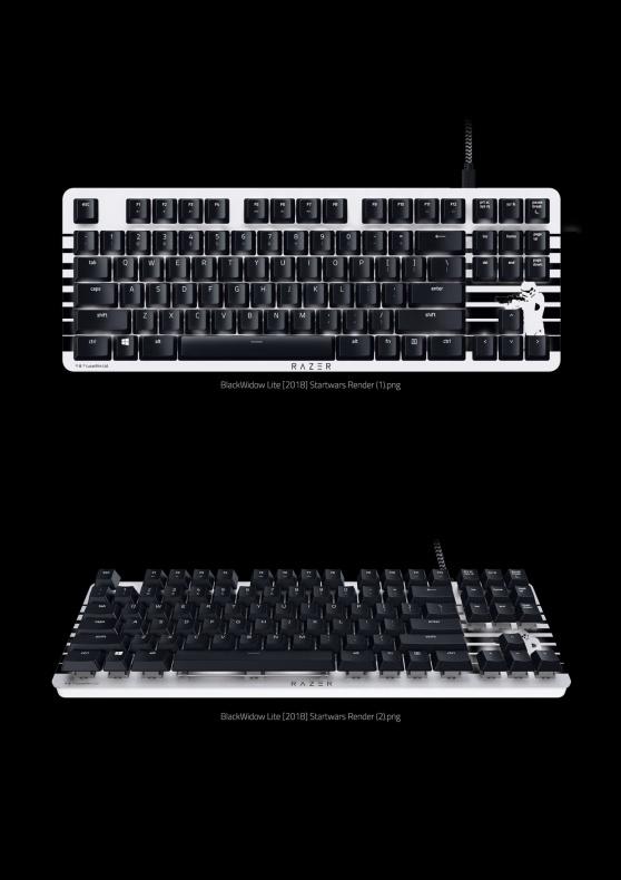Razer Star Wars teclado