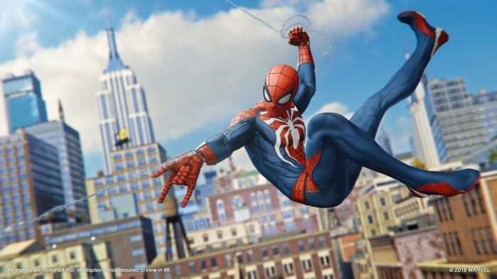 Spiderman 2018 game