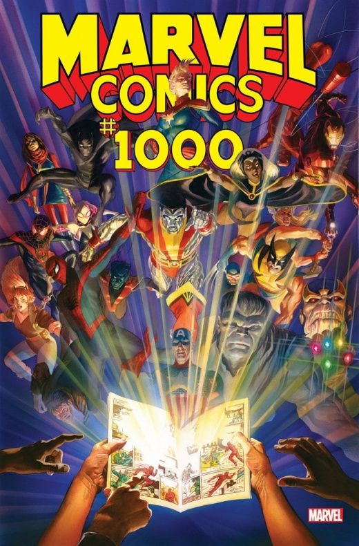 Marvel Comics #1000 portada