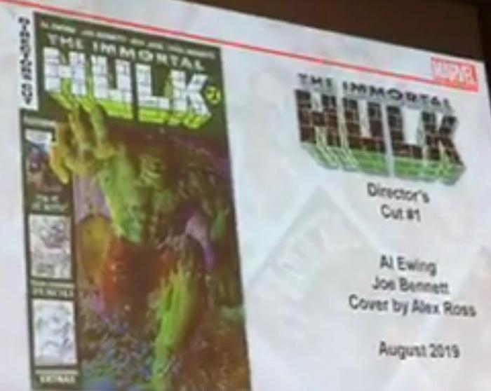 Anuncio Immortal Hulk director's Cut