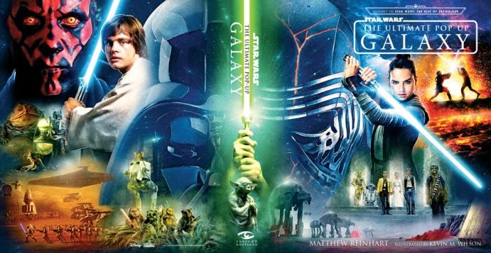 Star Wars libro pop-up