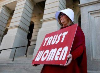 Protestas aborto Georgia