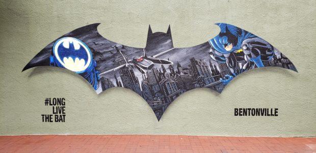 Mural Batman Bentonville