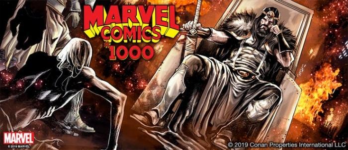 Conan Marvel Comics 1000