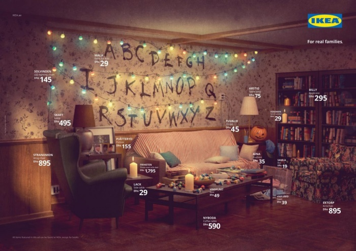 IKEA Stranger Things