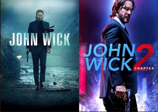 John Wick 1 y 2
