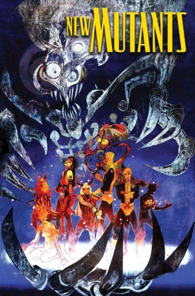 Marvel New Mutants War Children Cover