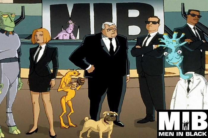 Men in Black animación