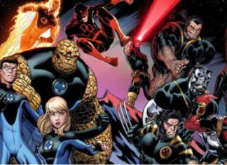 X-Men - Fantastic Four, Daredevil - Deadpool