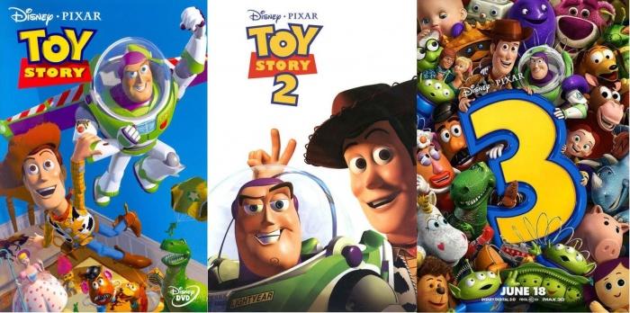 Toy Story I II III