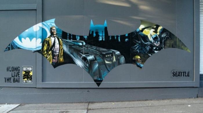 Mural Batman Seattle