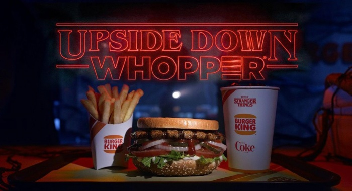 Burger King - Stranger Things
