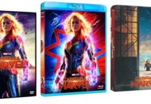 Capitana Marvel DVD/Blu-ray