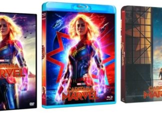 Capitana Marvel DVD/Blu-ray