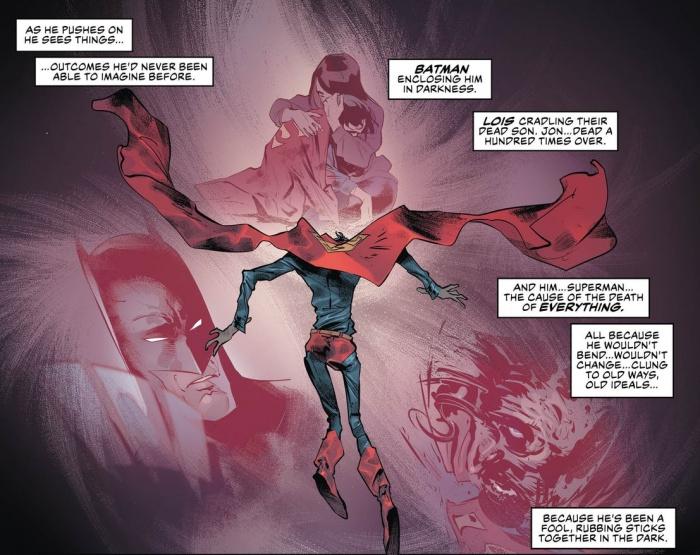superman justice league dark world
