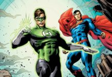 Green Lantern - Superman