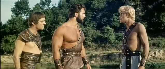 Hercules Teseo y Telémaco