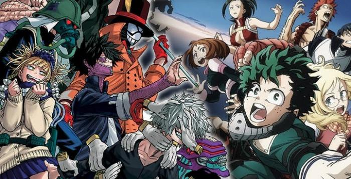 League of Villains My Hero Academia header