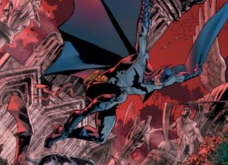 Portada de Bryan Hitch para The Batman's Grave