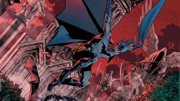 Portada de Bryan Hitch para The Batman's Grave