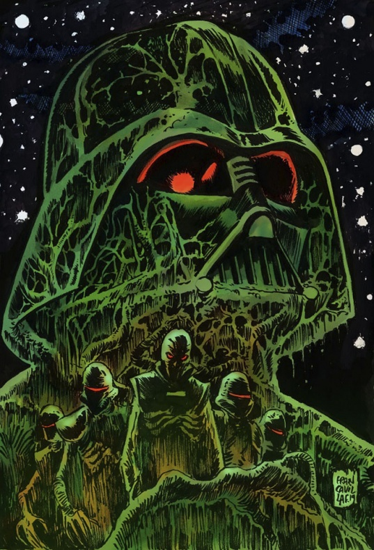 Return to Vaders Castle 5 color IDW13 1