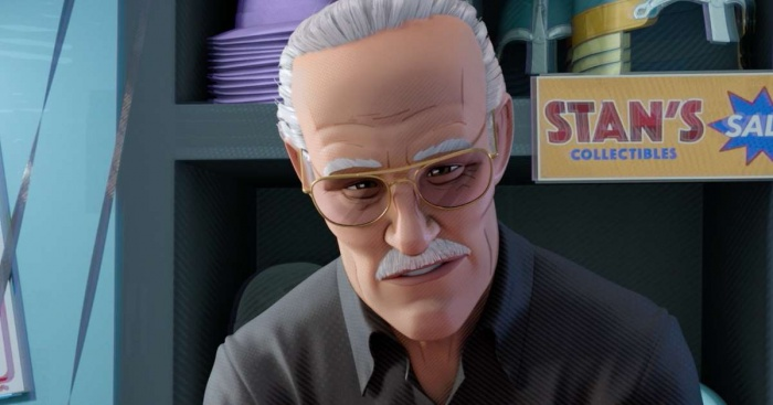 Stan Lee en Spider Man