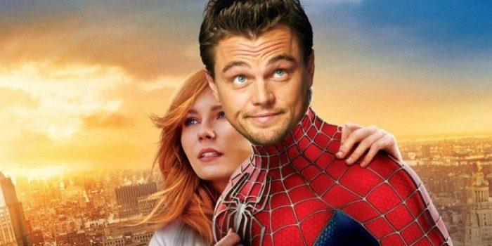 Superhero Movie Casting Spiderman Leonardo DiCaprio e1562351791980