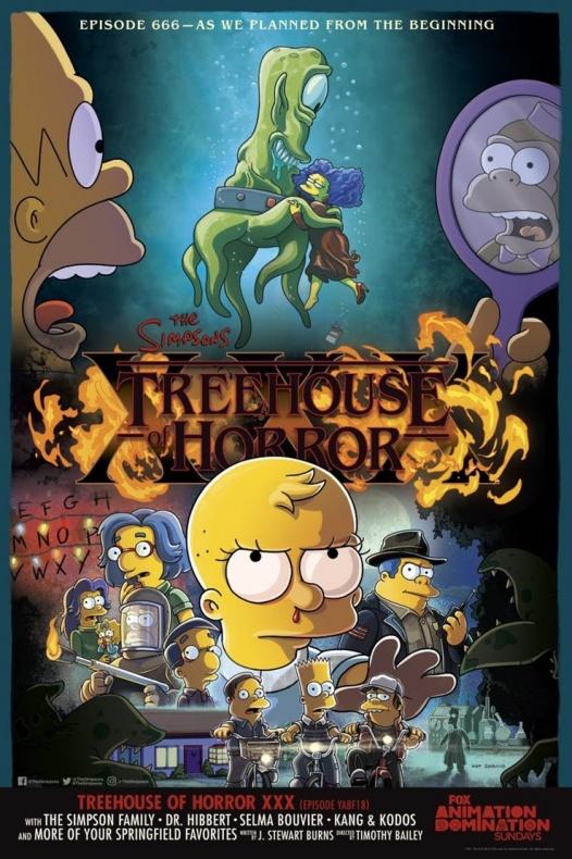 Simpsons Treehouse Horror