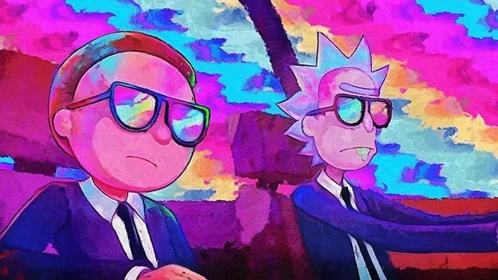 Primera imágenes de la temporada 4 ¿con robots cocodrilos — Rick and Morty